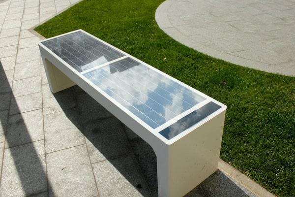 mobilier urbain connecté