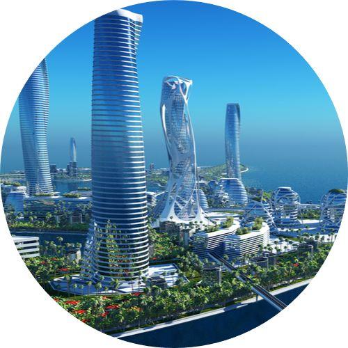 Ville du futur 2050