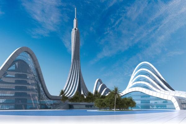 Ville idéale du futur