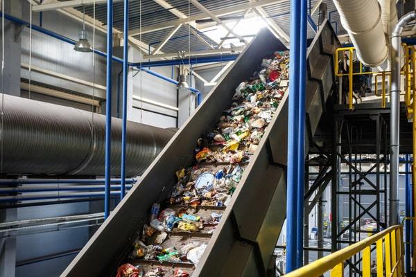 déchets ville intelligente